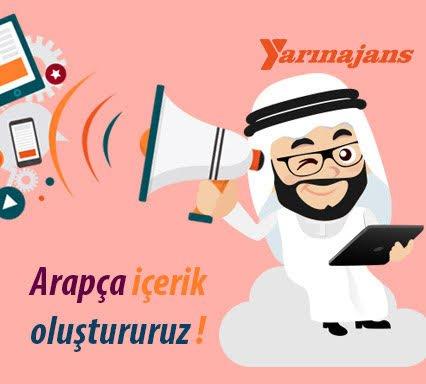 Arapça içerik oluşturmak